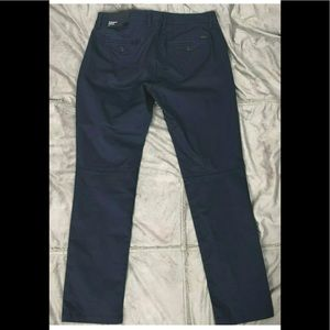 Armani Exchange Pants - Armani Exchange A|X Straight Trousers Chino Blue